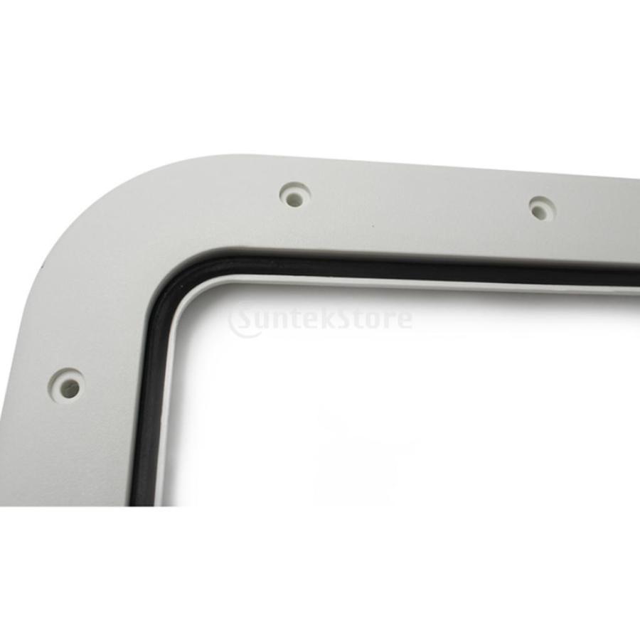 マリン ボートデッキアクセス ハッチ&リッド 16.7 X 12.4 X 0.8 インチ stk-shop 03