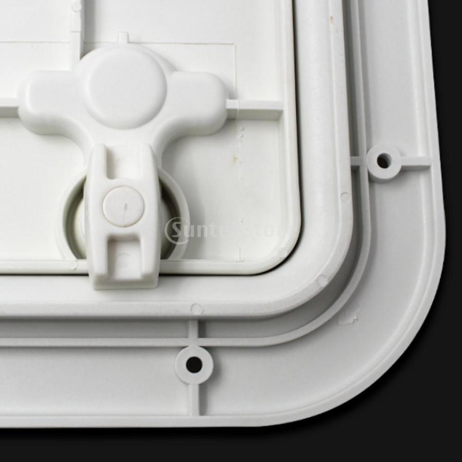 マリン ボートデッキアクセス ハッチ&リッド 16.7 X 12.4 X 0.8 インチ stk-shop 04