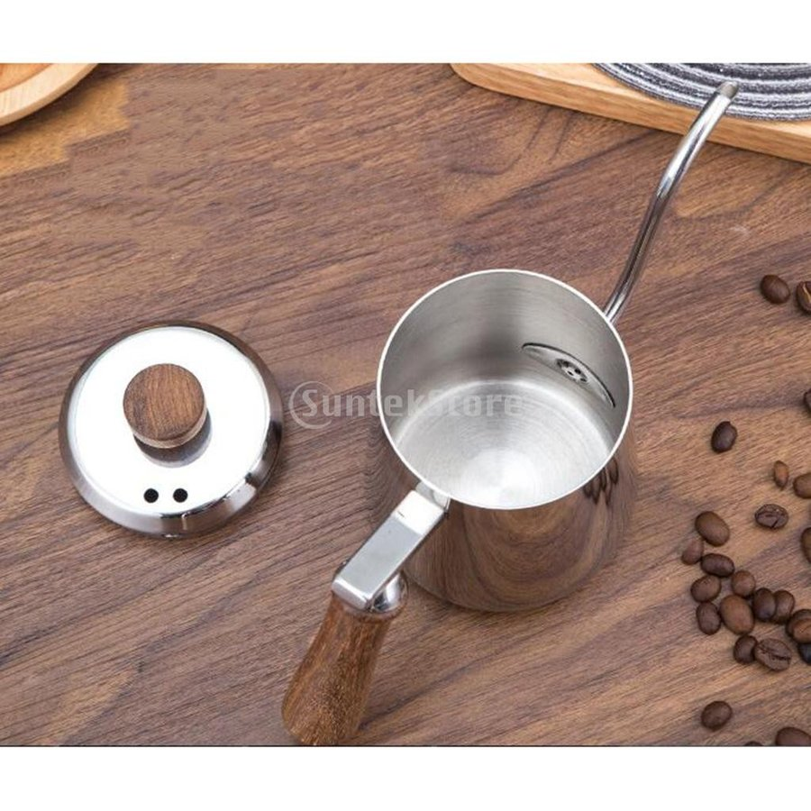 グースネック コーヒー ティー 紅茶 モカ ケトル 沸騰 ドリップポット 350ml ステンレス 全2容量選択可能|stk-shop|12