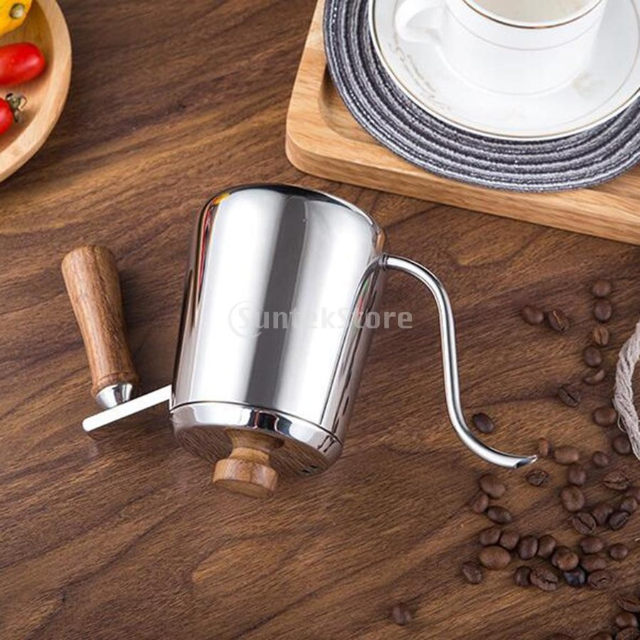 グースネック コーヒー ティー 紅茶 モカ ケトル 沸騰 ドリップポット 350ml ステンレス 全2容量選択可能|stk-shop|07