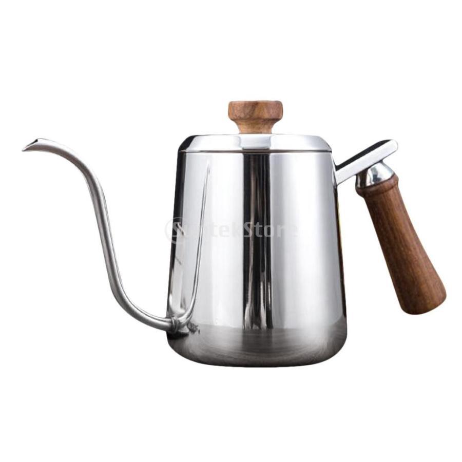 グースネック コーヒー ティー 紅茶 モカ ケトル 沸騰 ドリップポット 350ml ステンレス 全2容量選択可能|stk-shop|10