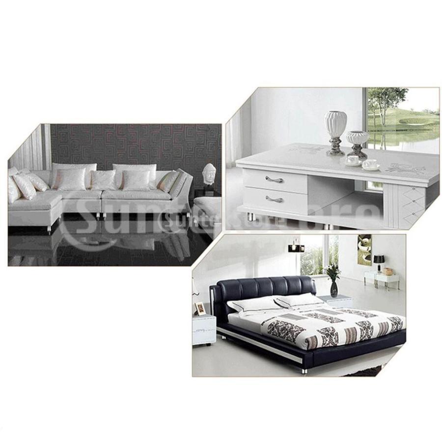 4個 高さ調節脚 145mm 継足し ソファ テーブル ベッド 家具脚 高さをあげる足 継ぎ足|stk-shop|04