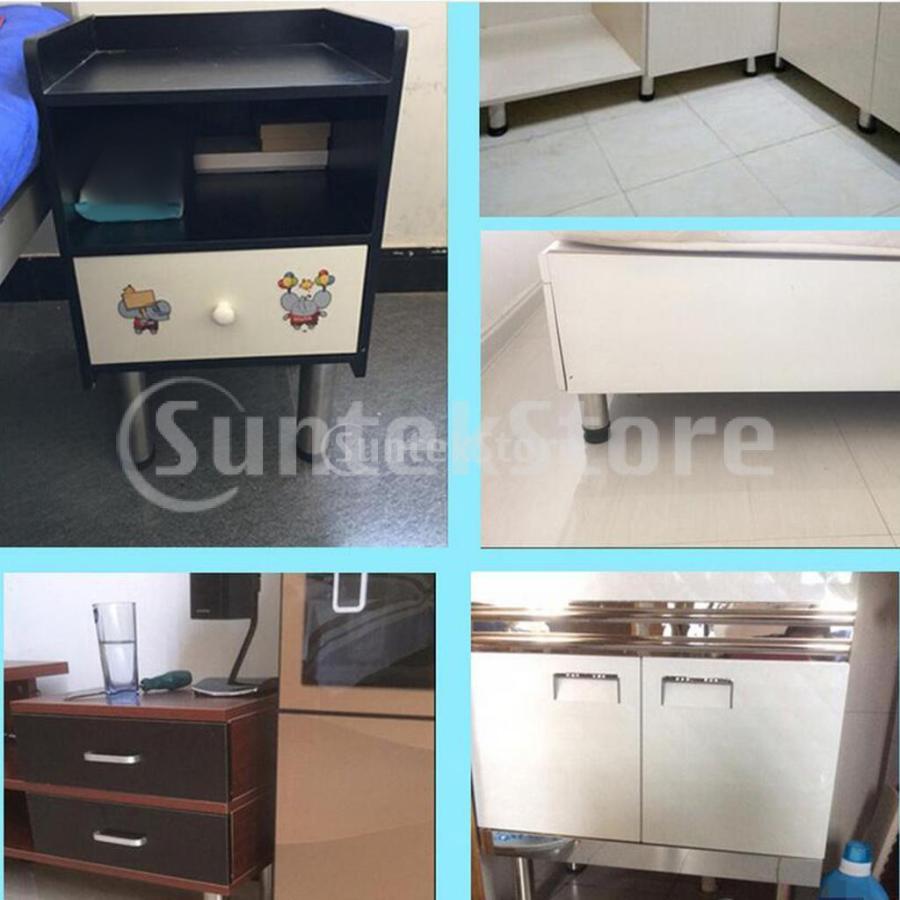 4個 高さ調節脚 145mm 継足し ソファ テーブル ベッド 家具脚 高さをあげる足 継ぎ足|stk-shop|05