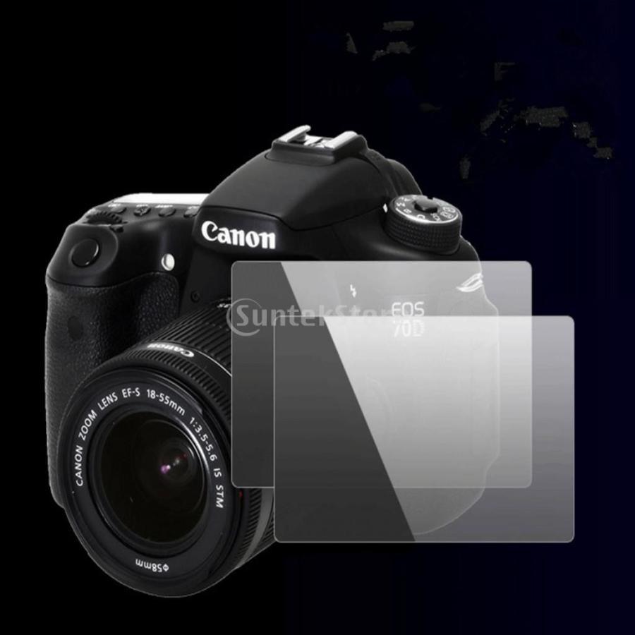 超薄 カメラ 液晶保護フィルム 強化ガラス Nikon DSLR D500適用 高感度 LCDスクリーン プロテクター stk-shop 11