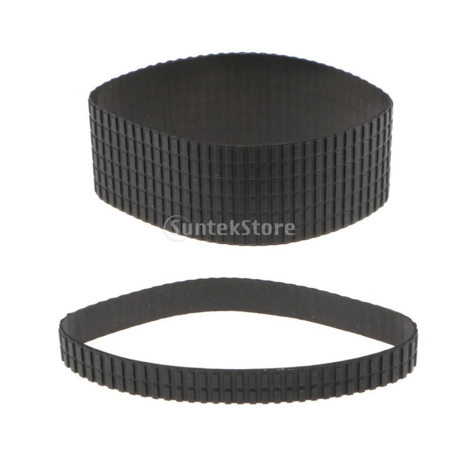 Flameer Tamron 24-70mm f/2.8 レンズ対応 ズーム/フォーカスリング カバー ゴム製 グリップ 交換用|stk-shop