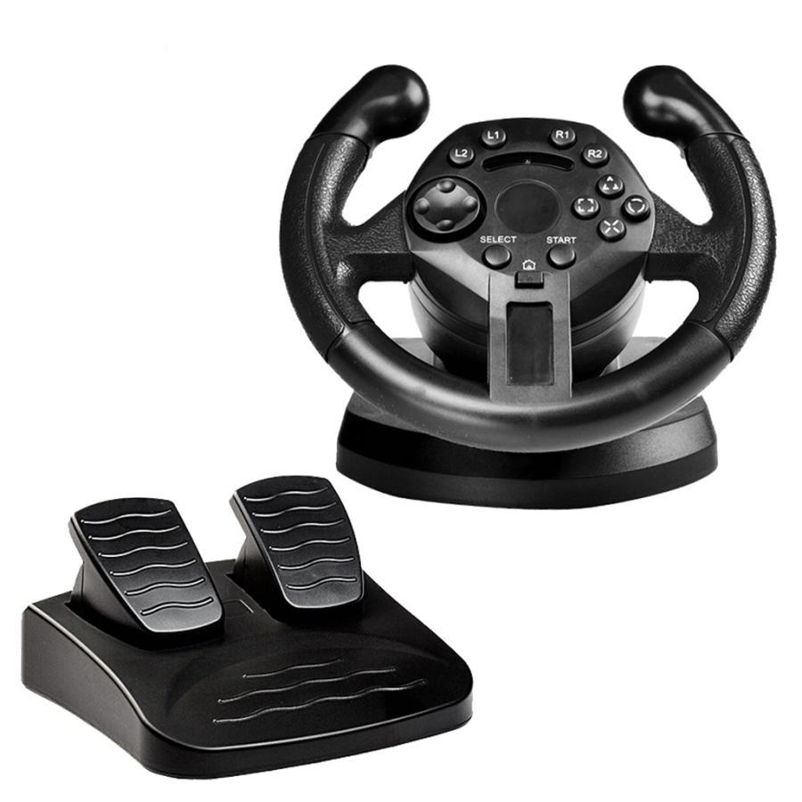 レーシングホイール.ステアリングホイールとペダル.pcゲームホイール.PS3/pc|stk-shop