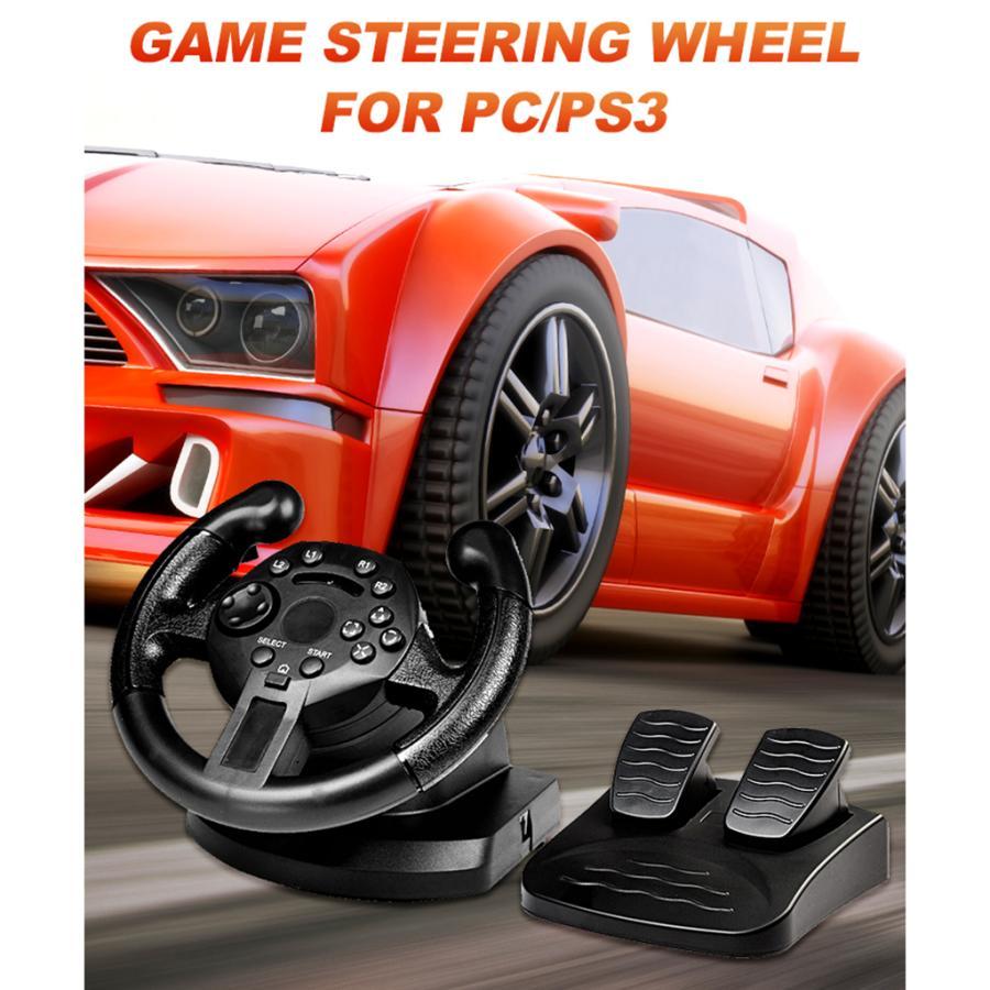 レーシングホイール.ステアリングホイールとペダル.pcゲームホイール.PS3/pc|stk-shop|09