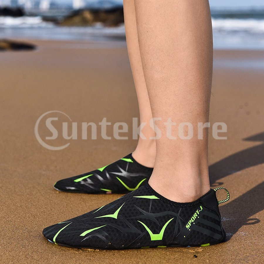ダイビングソックス ダイビングブーツ 裸足 マリンシューズ 超軽量 速乾 滑り止め 通気性 全12サイズ|stk-shop|04