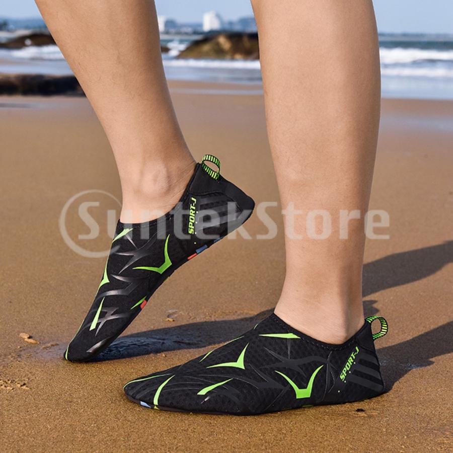 ダイビングソックス ダイビングブーツ 裸足 マリンシューズ 超軽量 速乾 滑り止め 通気性 全12サイズ|stk-shop|08