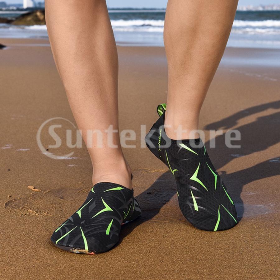 ダイビングソックス ダイビングブーツ 裸足 マリンシューズ 超軽量 速乾 滑り止め 通気性 全12サイズ|stk-shop|10