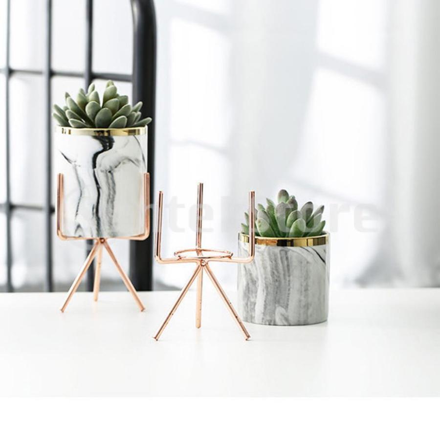 霜降りセラミック植物多肉プランター植木鉢ホームオフィス装飾 stk-shop 08