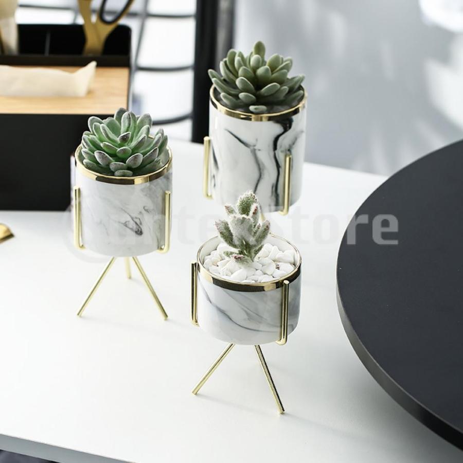 霜降りセラミック植物多肉プランター植木鉢ホームオフィス装飾 stk-shop 09