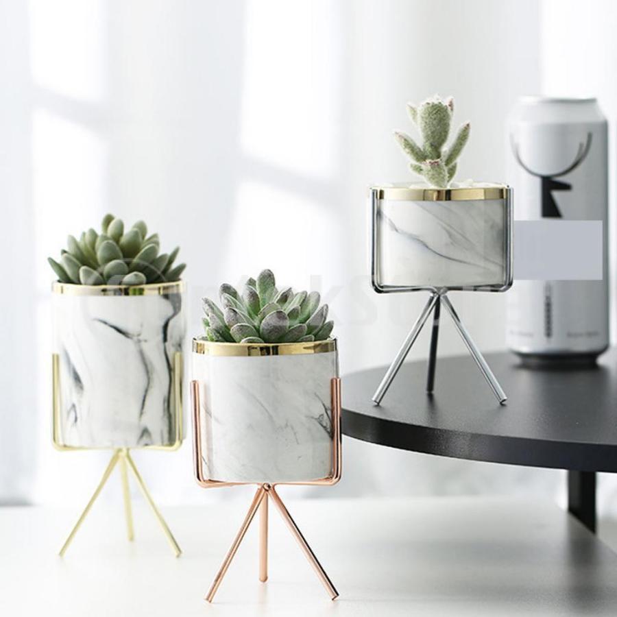 霜降りセラミック植物多肉プランター植木鉢ホームオフィス装飾 stk-shop 10