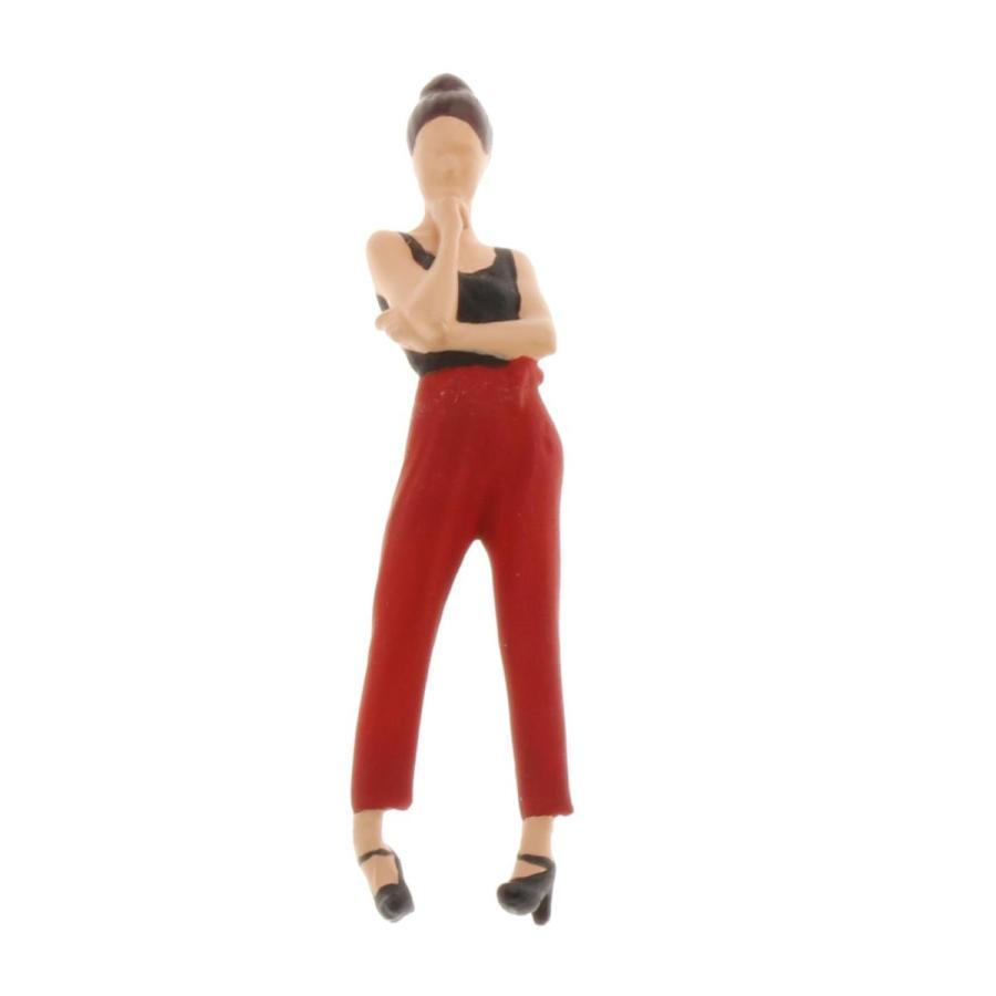 2-4ミニ1:64ジオラマフィギュア思考女性の風景家の装飾|stk-shop|04
