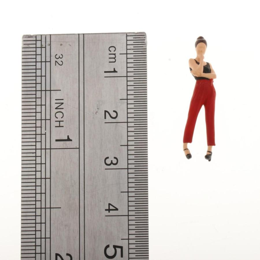 2-4ミニ1:64ジオラマフィギュア思考女性の風景家の装飾|stk-shop|06