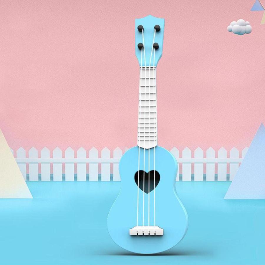 4ストリングハワイギターウクレレ早期教育発達パーティーコンサート音楽楽器のおもちゃ初心者幼児誕生日ギフト stk-shop