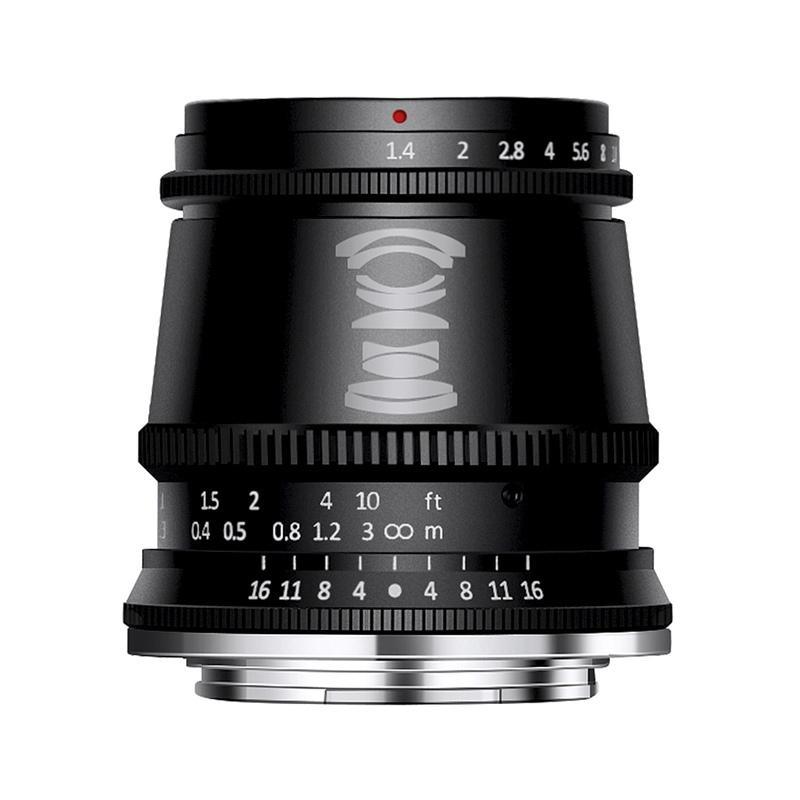 メーカー再生品 銘匠光学 TTArtisan 17mm f 1.4 C 買取 ブラック 直販限定モデル ASPH 単焦点レンズ 富士フイルムXマウント