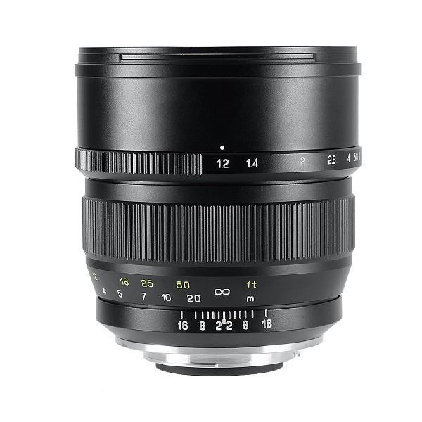中一光学 ZHONG YI 安い 激安 プチプラ 高品質 ついに入荷 OPTICS SPEEDMASTER F1.2 - ペンタックスKマウント 85mm 単焦点レンズ