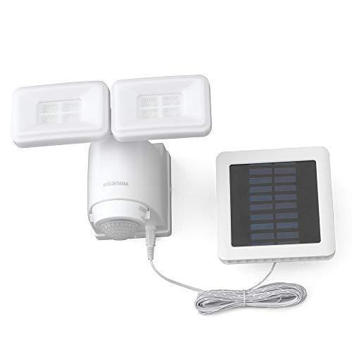 アイリスオーヤマ(IRIS OHYAMA) ソーラー式LED防犯センサーライト ソーラー式LED防犯センサーライト LSL-SBTN-800 パールホ|stkshop