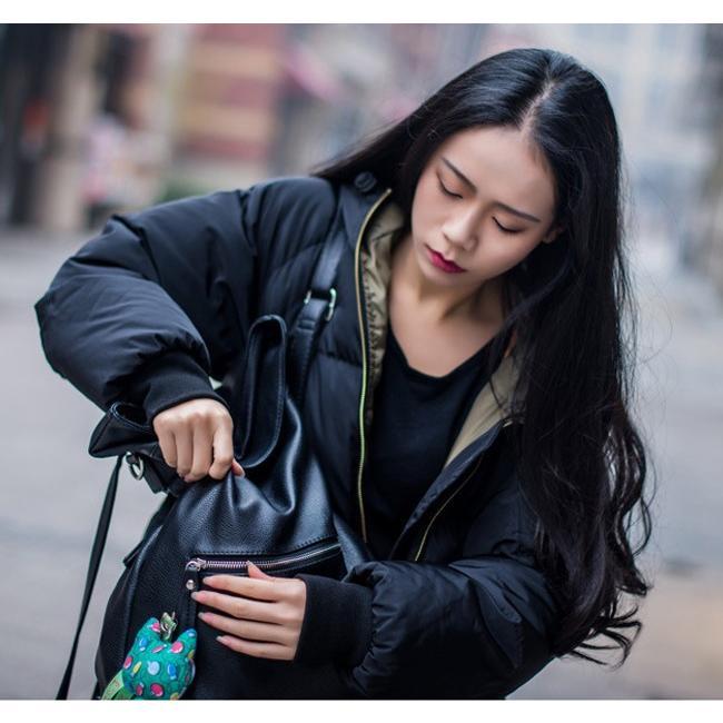 在庫処分セール  中綿コート レディース ロング フード付き ラグラン ゆったり 大きいサイズ 無地 黒 カジュアル 春 アウター ロング 短納期|store-candyz|13