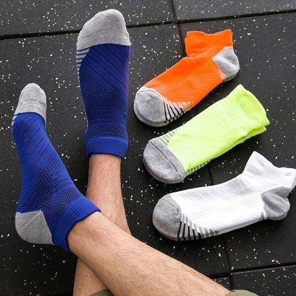 ソックス メンズ レディース 3点セット 靴下 スポーツソックス  厚手 無地 シンプル 機能性 メール便送料無料3|store-delight|11