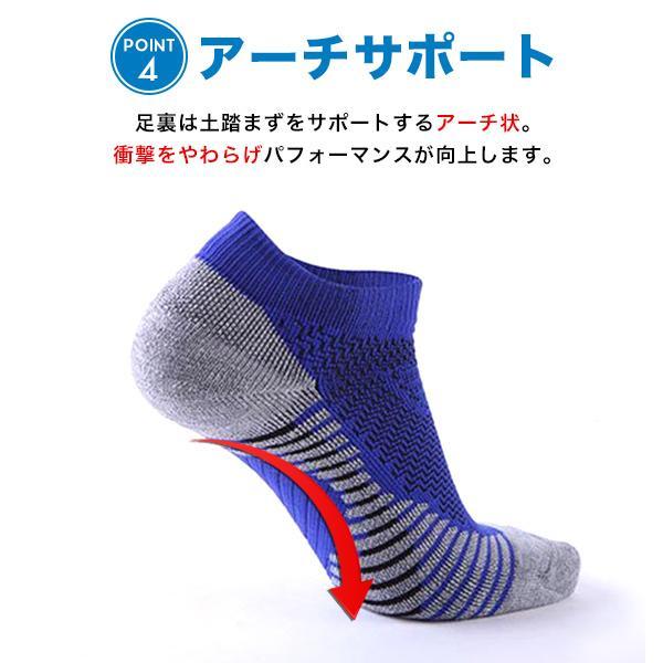 ソックス メンズ レディース 3点セット 靴下 スポーツソックス  厚手 無地 シンプル 機能性 メール便送料無料3|store-delight|06