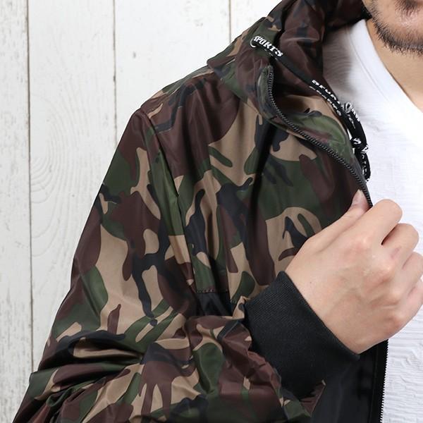 ジャケット メンズ 秋 冬 ナイロン ウィンドブレーカー 迷彩 防風 ブルゾン 薄手 パーカー ジップアップ メール便のみ送料無料|store-delight|13