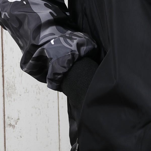 ジャケット メンズ 秋 冬 ナイロン ウィンドブレーカー 迷彩 防風 ブルゾン 薄手 パーカー ジップアップ メール便のみ送料無料|store-delight|06