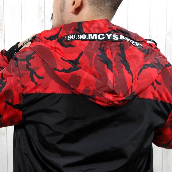 ジャケット メンズ 秋 冬 ナイロン ウィンドブレーカー 迷彩 防風 ブルゾン 薄手 パーカー ジップアップ メール便のみ送料無料|store-delight|10