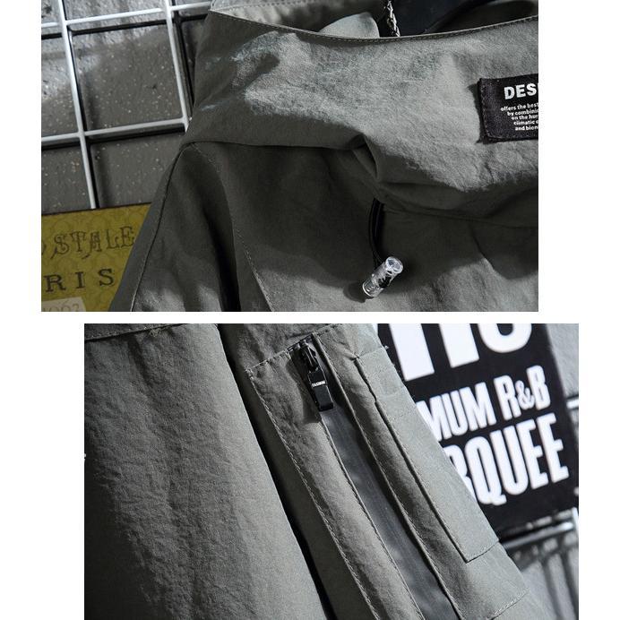 マウンテンパーカーメンズ アウター ウィンドブレーカー ジャケット 羽織り ジップパーカー シンプル カジュアル 送料無料 store-delight 15