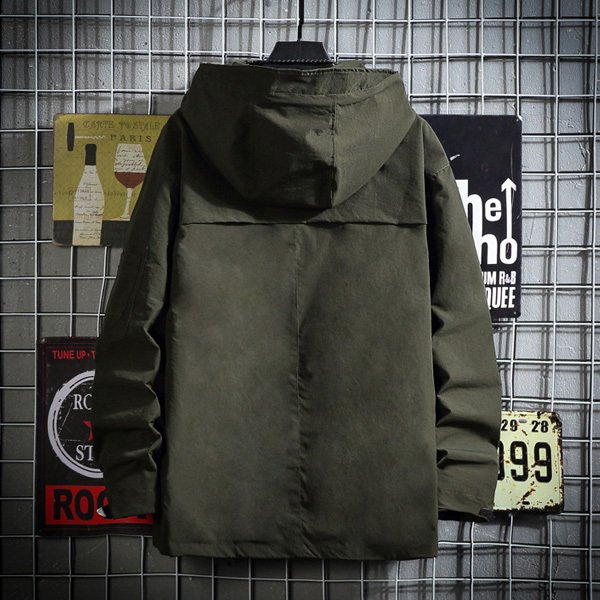 マウンテンパーカーメンズ アウター ウィンドブレーカー ジャケット 羽織り ジップパーカー シンプル カジュアル 送料無料 store-delight 09