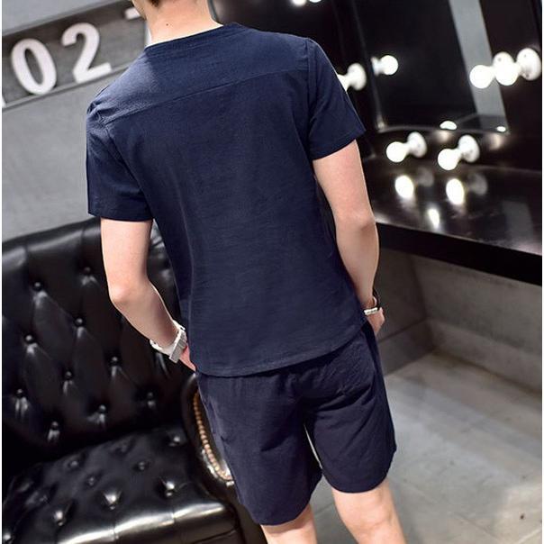 2点セットスウェットショートパンツ 上下セット ジャージ メンズ Tシャツ スエットトレーナー 春夏 メール便のみ送料無料2【予約】11/10〜20入荷予定 store-delight 07