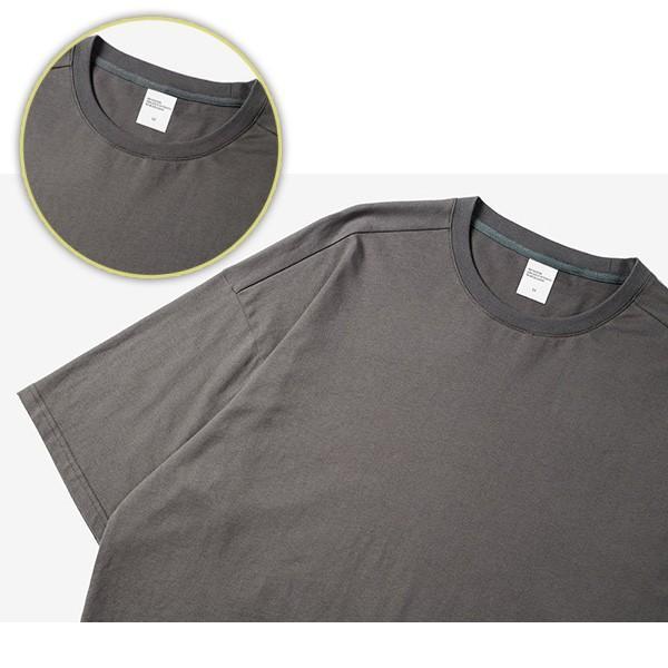 Tシャツメンズ BIGシルエット オーバーサイズ ビッグ 半袖 ストリート ルーズ 大きめサイズ 無地Tトップスメール便のみ送料無料2【予約】11/10〜20入荷予定|store-delight|14