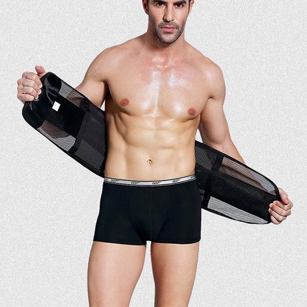 腰用サポーターベルト 通気性ベルト コルセット 姿勢矯正 腰痛対策 メール便のみ送料無料2  store-delight 06
