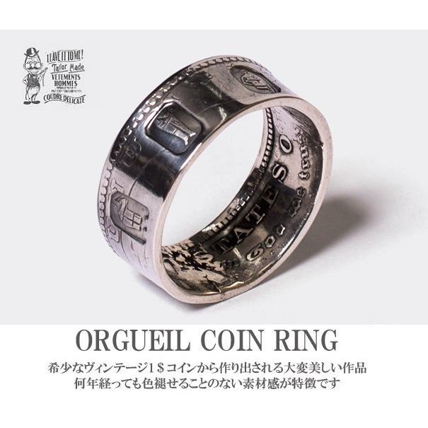 人気商品の オルゲイユ 通販 通販 ORGUEIL ORGUEIL OR-7023B Coin Coin Ring Ring モルガンダラー コインリング 指輪 ステュディオダルチザン 通販, 阿蘇の玄関キムチの里:332bf3b1 --- airmodconsu.dominiotemporario.com