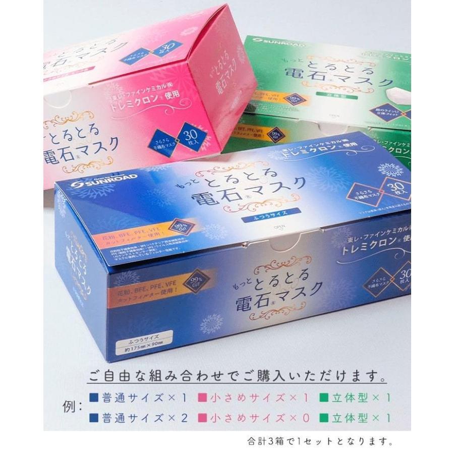 もっと とるとる電石マスク 選べる3箱セット(ふつうサイズ・小さめサイズ・立体型) store-naratv 11