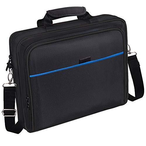 ANZEO 進化版 PS4 Proバッグ PlayStation4 XBOX バッグ 肩掛け 大容量 生活防水 保護ケース 防塵 青