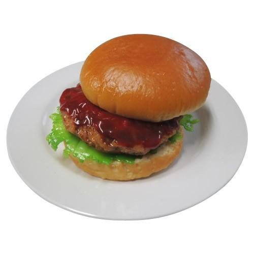 送料無料 日本職人が作る 食品サンプル ハンバーガー IP-198