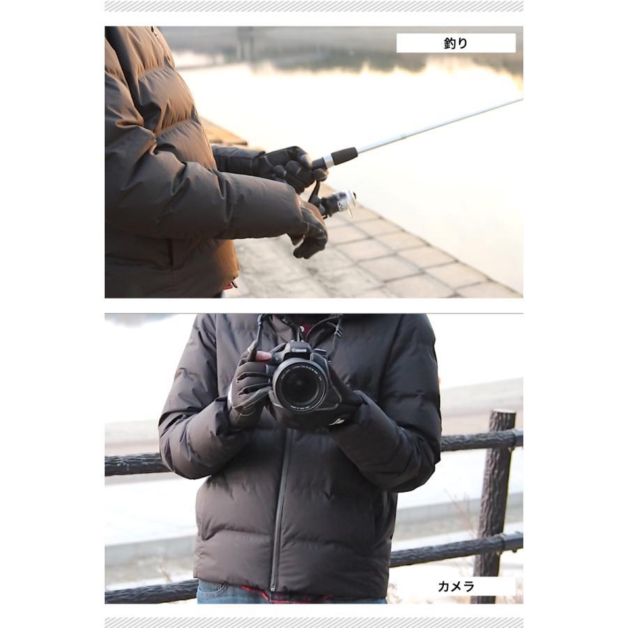 フィッシンググローブ カメラグローブ 手袋 グローブ スマホ対応 釣り カメラ メンズ レディース 防寒 手ぶくろ 防風 自転車 バイク キャンプ FG01|storejm|04
