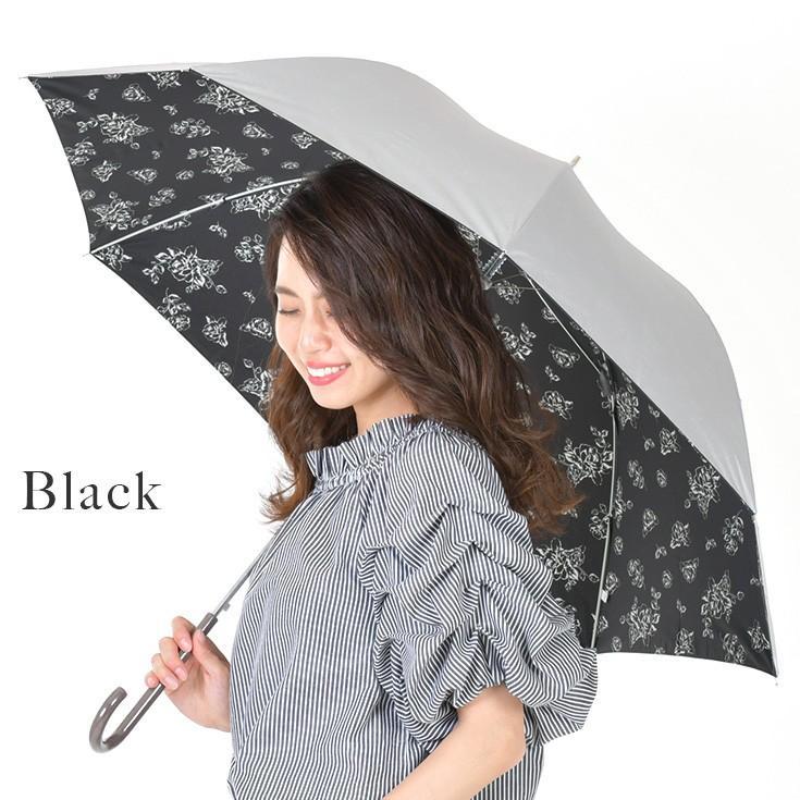 日傘 レディース 長傘 晴雨兼用 UVカット率99%以上 遮光率99%以上 遮熱 大きい|story-web|02