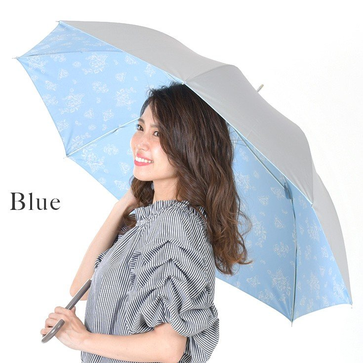 日傘 レディース 長傘 晴雨兼用 UVカット率99%以上 遮光率99%以上 遮熱 大きい|story-web|03