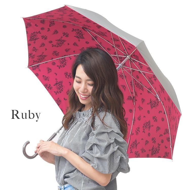日傘 レディース 長傘 晴雨兼用 UVカット率99%以上 遮光率99%以上 遮熱 大きい|story-web|05