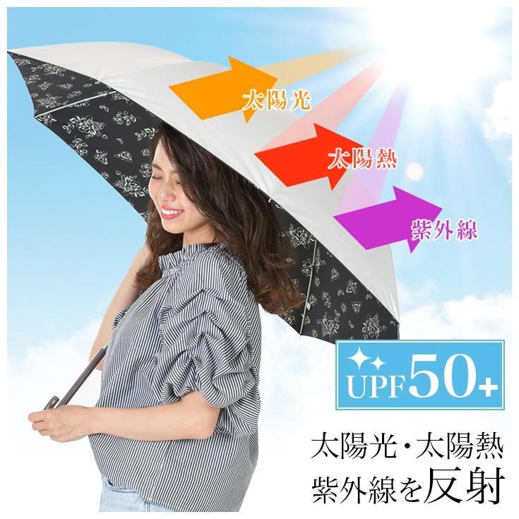 日傘 レディース 長傘 晴雨兼用 UVカット率99%以上 遮光率99%以上 遮熱 大きい|story-web|06