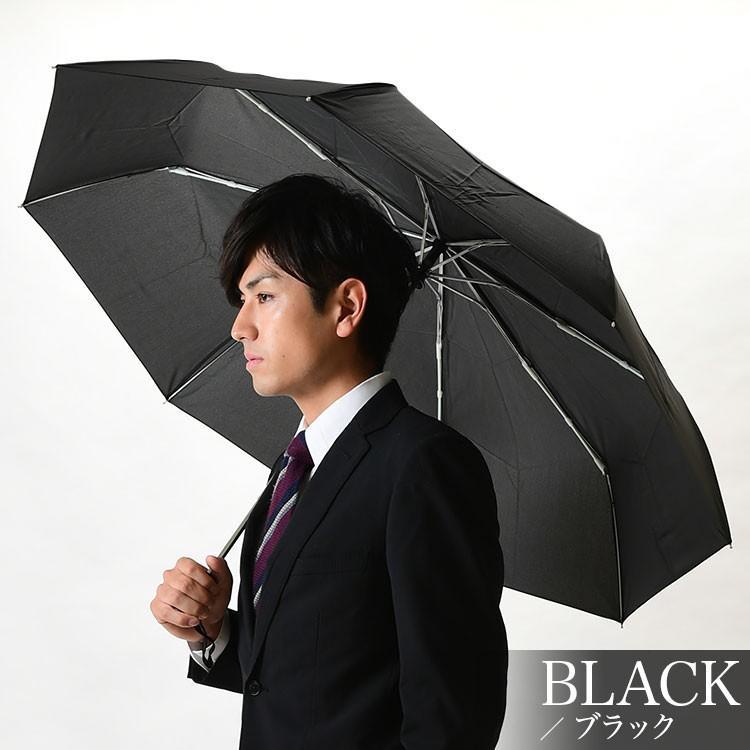 折りたたみ傘 メンズ 自動開閉 大きい 風に強い 耐風 ワンタッチ 65cm|story-web|13