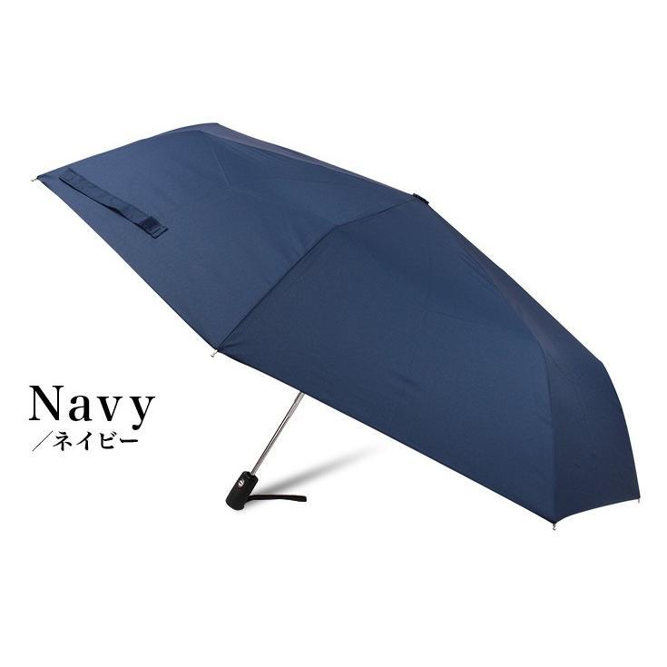 折りたたみ傘 ワンタッチ 自動開閉 セーフティーストッパー 大きい 風に強い 耐風 メンズ 65cm|story-web|11