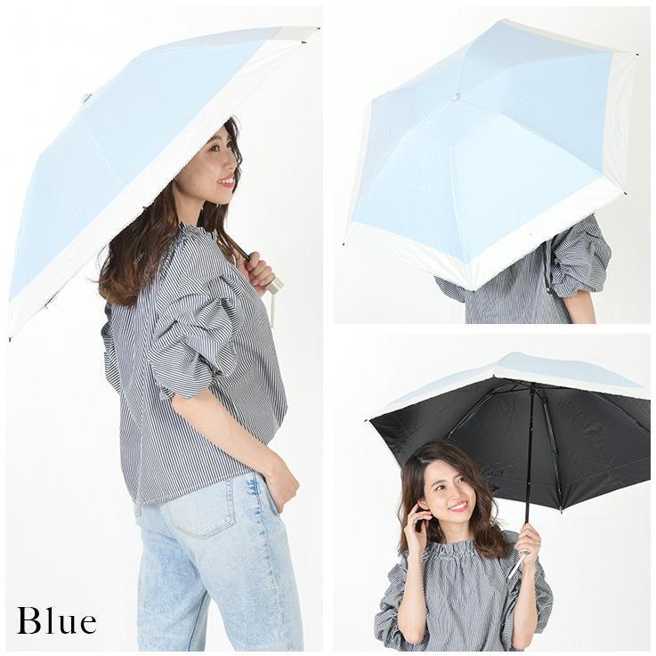 日傘 完全遮光 折りたたみ レディース おしゃれ 晴雨兼用|story-web|03