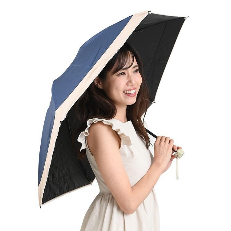日傘 完全遮光 折りたたみ レディース おしゃれ 晴雨兼用|story-web|04