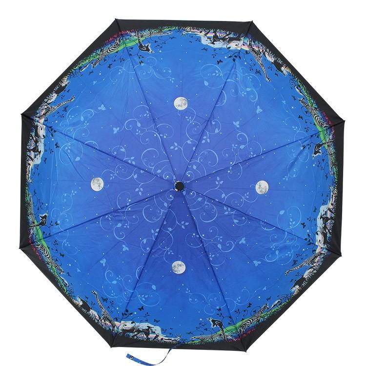 送料無料 折りたたみ傘 レディース 傘 軽量 かわいい グラスファイバー 花柄|story-web|05