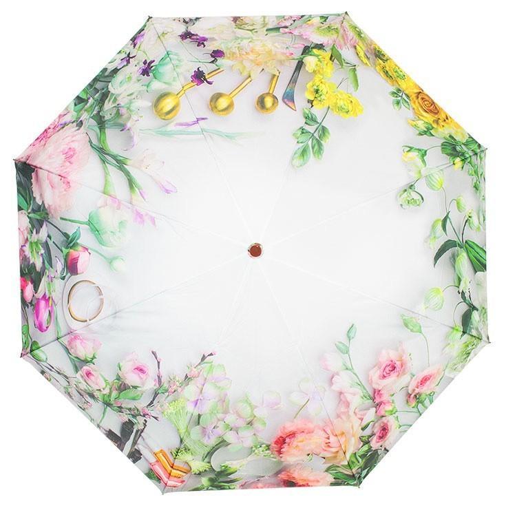 送料無料 折りたたみ傘 レディース 傘 軽量 かわいい グラスファイバー 花柄|story-web|09