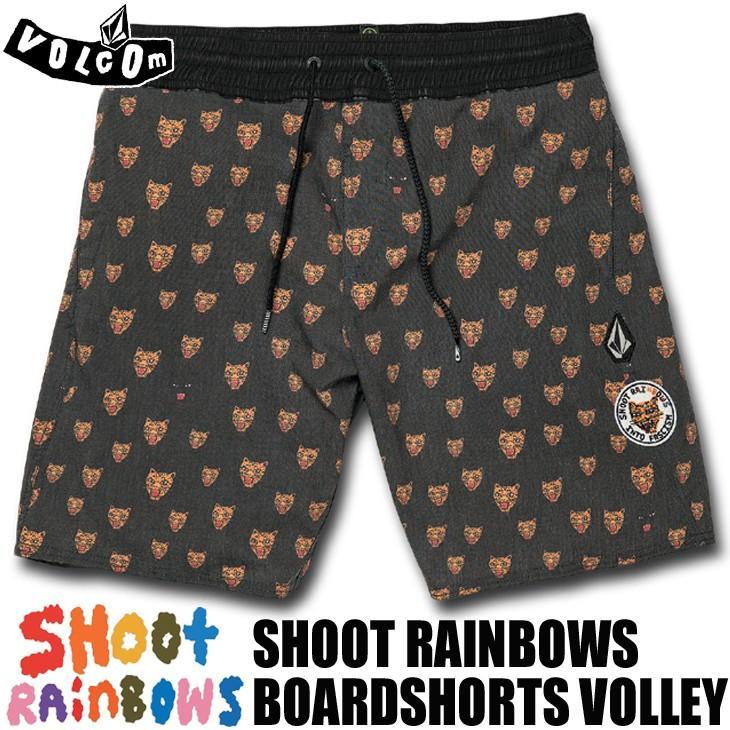 VOLCOM ボルコム ボードショーツ 海パン 水着 Ozzie Volley 17 SHOOT RAINBOWS 品番 A2511903